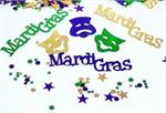Mardi Gras Confetti Words and Masks