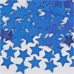 Metallic Blue Star Confetti Bulk or Packet