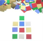 Square Multicolored Party Confetti