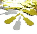 Cello Music Confetti Silver and Gold