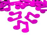 Fuchsia Music Note Confetti