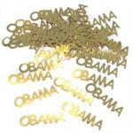 Obama Confetti, Gold