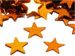 Bulk Orange Star Shaped Confetti