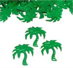 Palm Tree Confetti Metallic Green