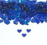 Prismatic Royal Blue Heart Confetti