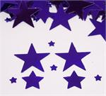 Purple Star Confetti, Assorted