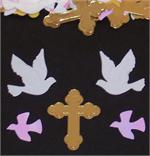 Christian Cross Confetti, Doves Confetti