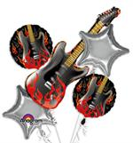 Large Guitar Balloon Bundle