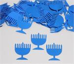 Royal Blue Menorah Confetti