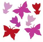 Butterfly and Tulip Shaped Confetti