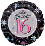 Sweet 16 Balloon, Prismatic