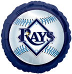 Tampa Bay Rays Baseball Balloon