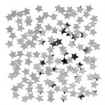 Tiny Silver Star Shaped Confetti