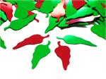 Red and Green Chili Pepper Confetti