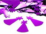 Purple Party Hat Confetti, Metallic
